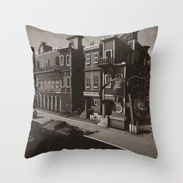 Old Cuba Havana Throw Pillow