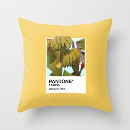 PANTONE SERIES – BANANA TREE Throw Pillow