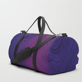 Purple daze 24 Duffle Bag