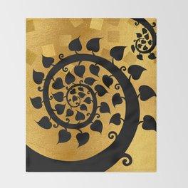 Bodhi Tree0601 Throw Blanket