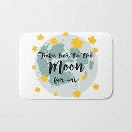 Bing Bong Moon Bath Mat