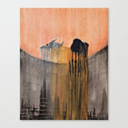 Ancient Prayer Canvas Print