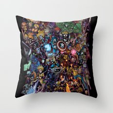 Lil' Marvels Throw Pillow