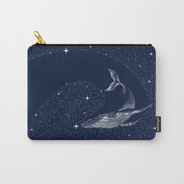starry whale Carry-All Pouch