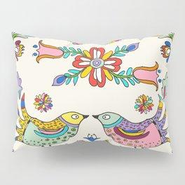 Papel Picado Birds Pillow Sham