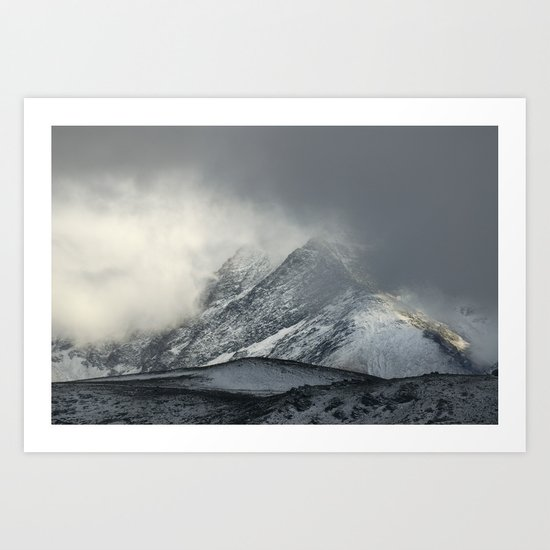 """The Mountain"" Art Print"