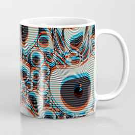 Trippy Eyes on loop Coffee Mug