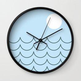 Sun Ocean Beach Wall Clock