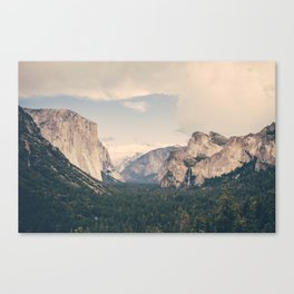 An Afternoon in Yosemite Canvas Print