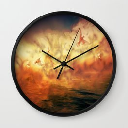Morgennebel Wall Clock