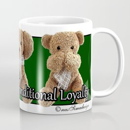 True Friendship is Unconditional Loyalty - Green Coffee Mug