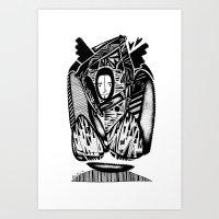 Winter - Emilie Record Art Print