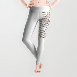 The Little Angel - Love Message Leggings