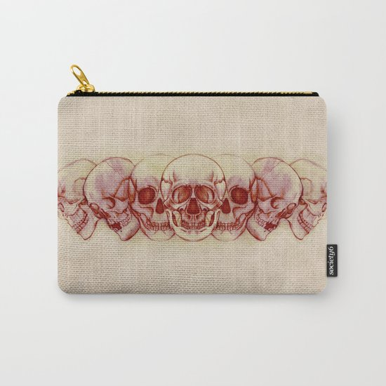 Sequential Skulls Carry-All Pouch