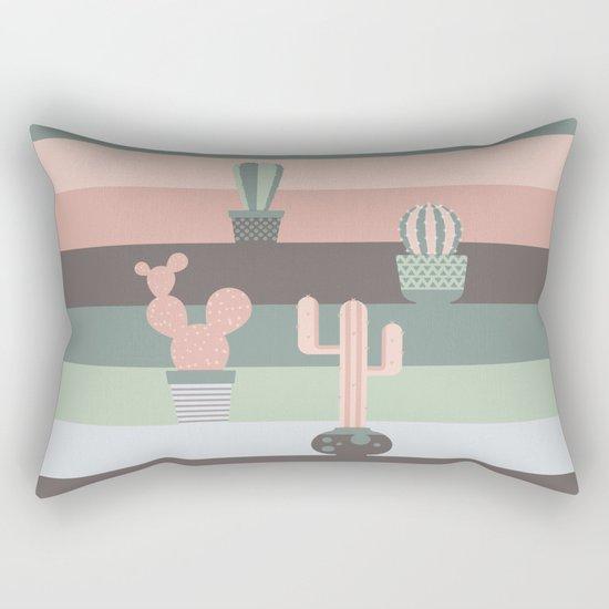 cacti colors Rectangular Pillow