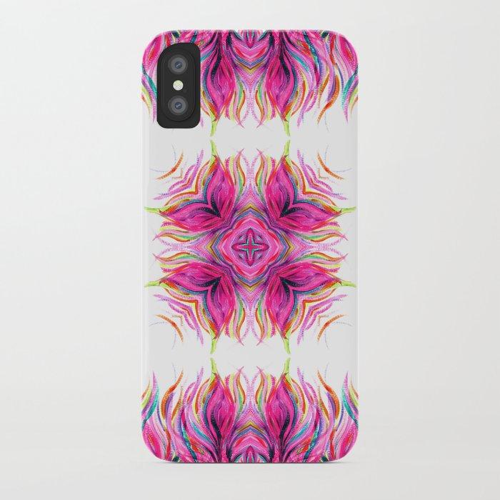 Grazioso Bold Kaleido Pink iPhone Case