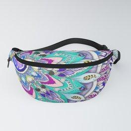 Zentangle Zengems pattern Fanny Pack