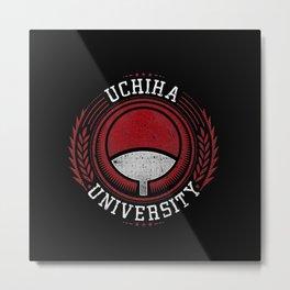 Uchiha University Metal Print