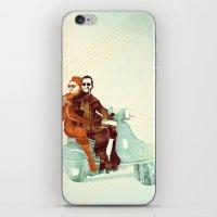 italian iPhone & iPod Skins featuring Vintage Italian by RadFive