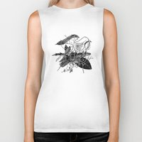 dream catcher Biker Tanks featuring Dream Catcher by brenda erickson