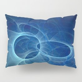 abstract fractal background Pillow Sham