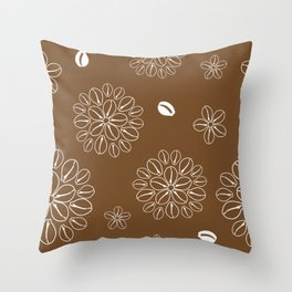 Cowrie Flower 1 Throw Pillow