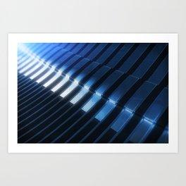 Techno Abstraction Art Print