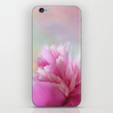 PART OF A PEONY iPhone & iPod Skin