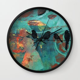All things will be ok Wall Clock