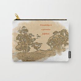 """Trees Of Catalina #2""/Simple Friendship Carry-All Pouch"
