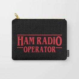 Strange Ham Radio Operator Carry-All Pouch
