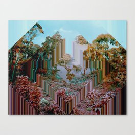 the crystal forest Canvas Print