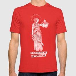 Women Have No Government-Dark T-shirt