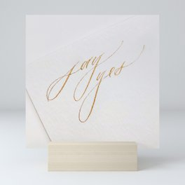 Say Yes Mini Art Print