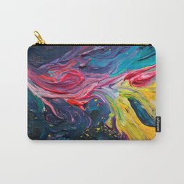 Bird Flower Carry-All Pouch