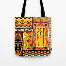 African Ornamental Pattern Tote Bag