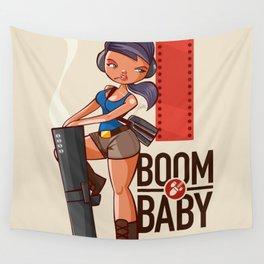 Boom Beach Fan Art - Zooka Wall Tapestry