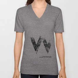 Winter Unisex V-Neck