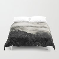 school Duvet Covers featuring In My Other World // Old School Retro Edit by Tordis Kayma