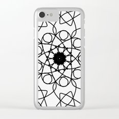 love mandala number 5 - mystery Clear iPhone Case