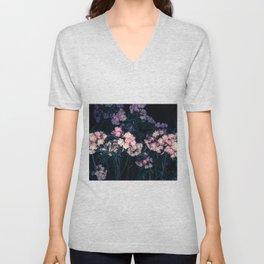 Sorpresa floral Unisex V-Neck