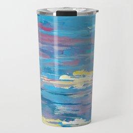 Sunset, Multi-Color Sky Painting Travel Mug