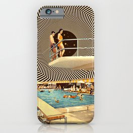Illusionary Pool Party iPhone Case