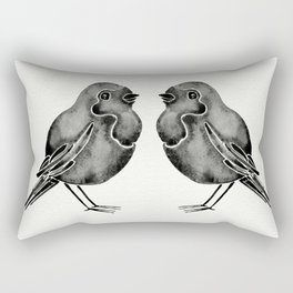 Little Blackbirds Rectangular Pillow
