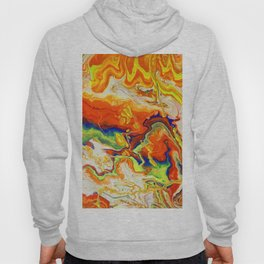 Abstract Painting. Fire. Lava Hoody