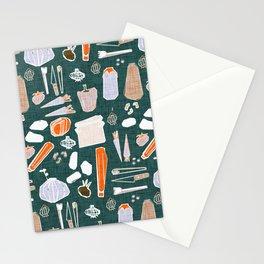 Veggies Olive Stationery Cards