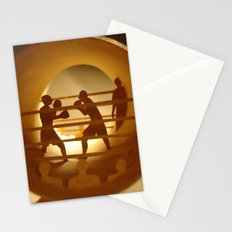 Boxing (Boxe) Stationery Cards