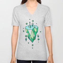 Little Emerald World Unisex V-Neck