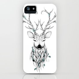 Poetic Deer iPhone Case