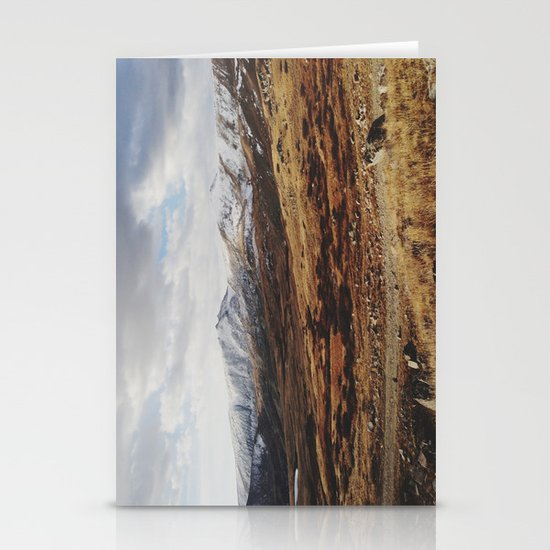Mosquito Pass Rocky Mountains Stationery Cards